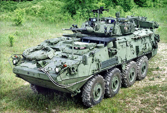 GAW LAV (Light Armored Vehicle) Family Of Combat Vehicles: