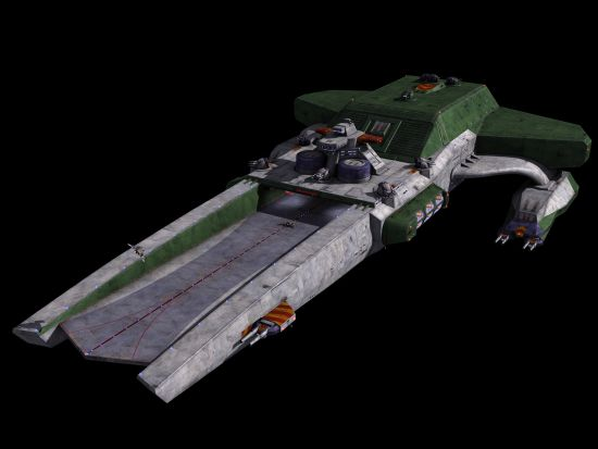 Confederation Bengal Class Strike Carrier Wing Commander